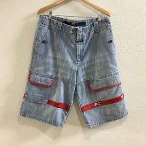 Marithe Francois Girbaud denim shorts